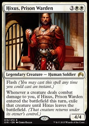 Hixus Prison Warden Magic the Gathering MTG