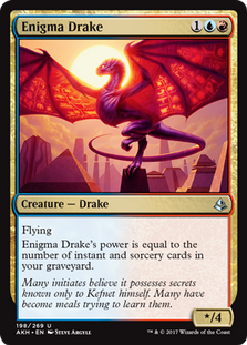 Can an Enigma Drake Deck Be Competitive? - Magic the