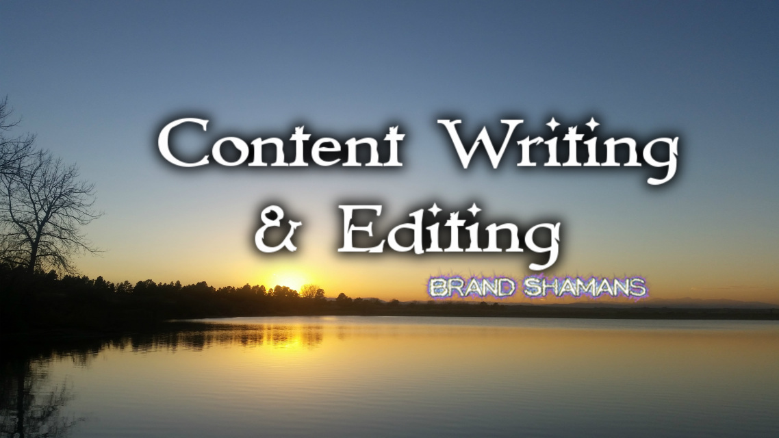Content Writing & Editing by Brand Shamans