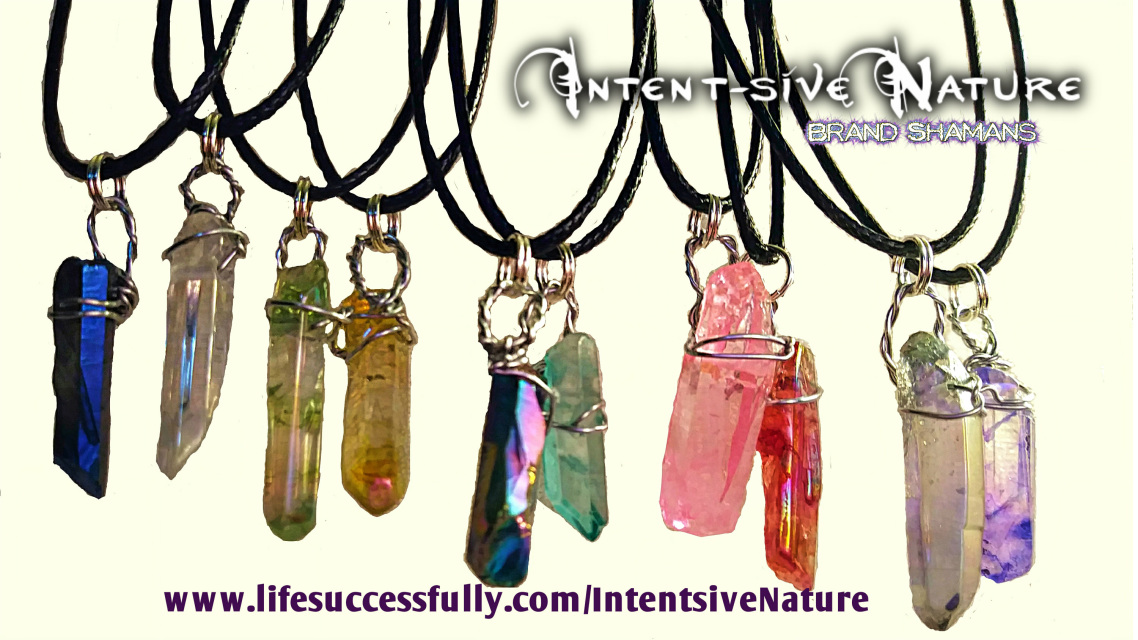 Custom Rose Quartz Crystal Healing Necklace | Intent-sive
