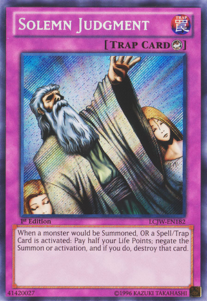 Yu-Gi-Oh - Solemn Judgt and Monster Reborn No Longer Banned in ...